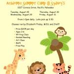 Sage Design Group | KinderReady Summer Camp Flyer