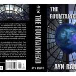 Fountainhead Book Cover / Dustjacket Design