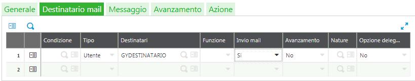 Sage v9 - Tab Destinatari Workflow