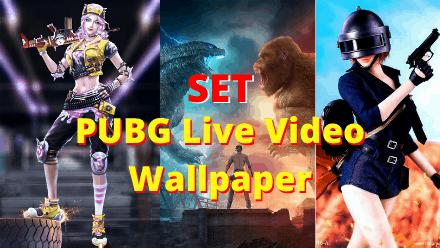 any video live wallpaper pubg video wallpaper