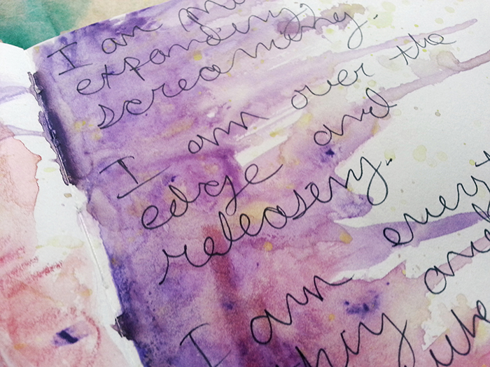 What does an orgasm look like art journal by sage l mattison