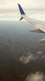 Flying over the Everglades