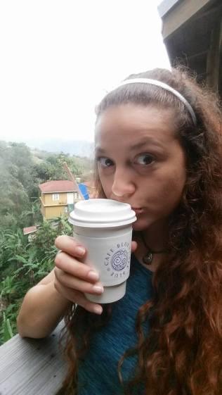 First taste of Blue Mountain coffee <3