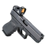 AT3 ARO Micro Reflex mounted on a Glock via rear-sight replacement