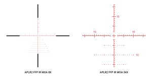 Athlon Helos BTR 8-34x56 APLR2 FFP IR MOA reticle