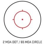 SIG Sauer Romeo5 Circle Dot Dual Reticle