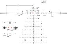 March 5-42x56 FFP FML TR1 reticle diagram