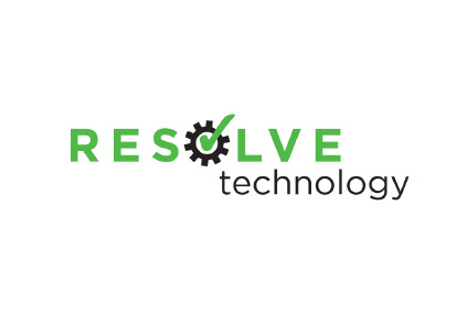 Resolve Technology Logo | Sage River Graphics