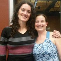 With online course student Tracy in Seattle