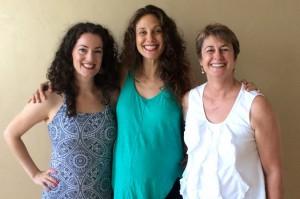 Sage, Mira Shani, and Lies Sapp