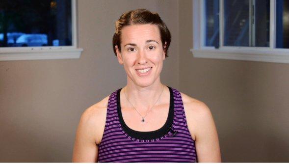 Jo has great videos online at jomaryoga.com