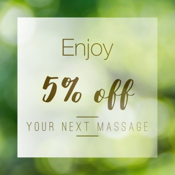 Enjoy $5 Off when you within 30 days of your last appointment. Sage Studio wants to reward you for making us a part of your wellness plan. *This promo is re-usable and applied at check-out. Call/text (830)385-3669 to schedule, We do NOT charge your card when booking online.
