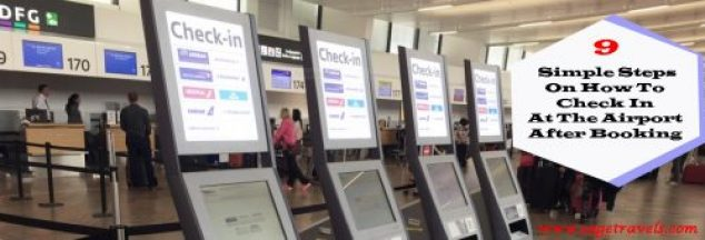 Simple Steps On How To Check In At The Airport After Booking