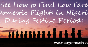 See How to Find Low Fare Domestic Flights in Nigeria During Festive Periods