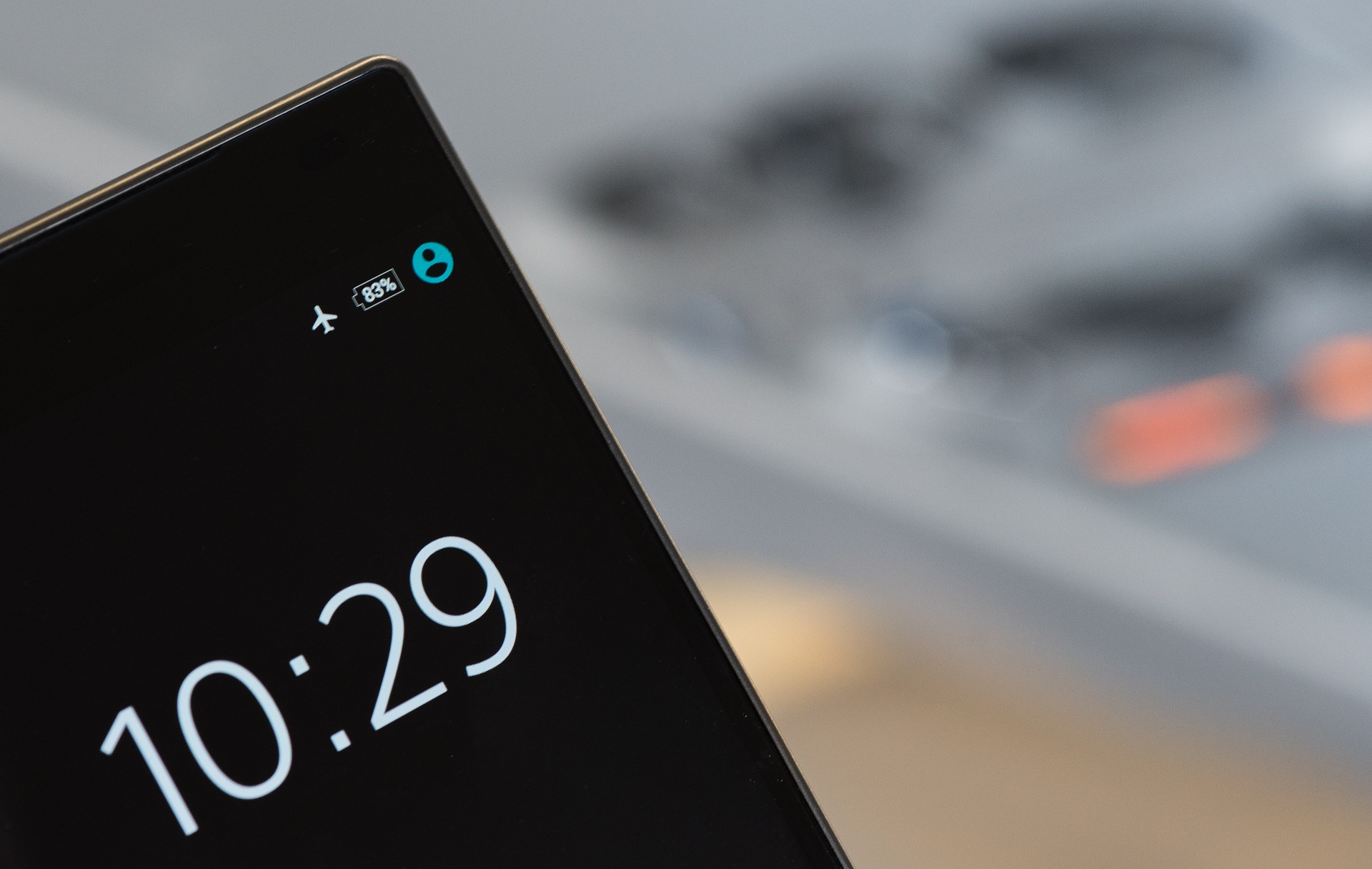 Phone on Flight mode