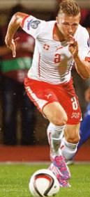 Silvan Widmer, Fussballer, Matura 2013 ist Nationalspieler und derzeit in Italien bei Udinese Calcio unter Vertrag.
