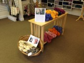 Sage Yarn Display