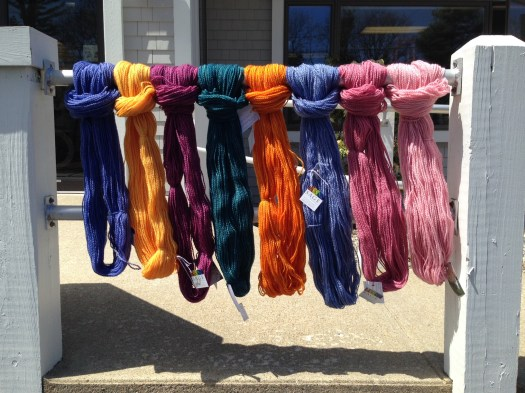 Sage Yarn Display 2
