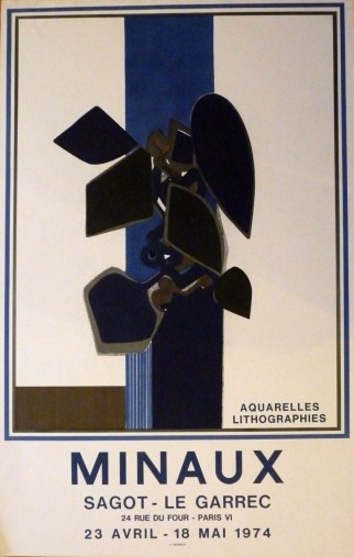 Exposition André Minaux - Mai 1974