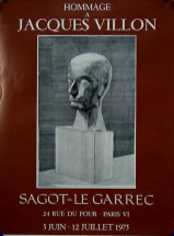 Exposition Jacques Villon - Juin 1975