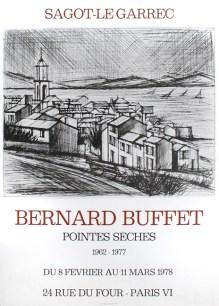 Bernard Buffet - Février 1978