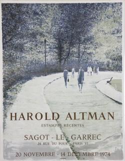 Exposition Harold Altman - Novembre 1974