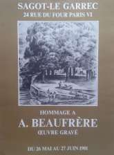 Exposition Adolphe Beaufrère - Mai 1981