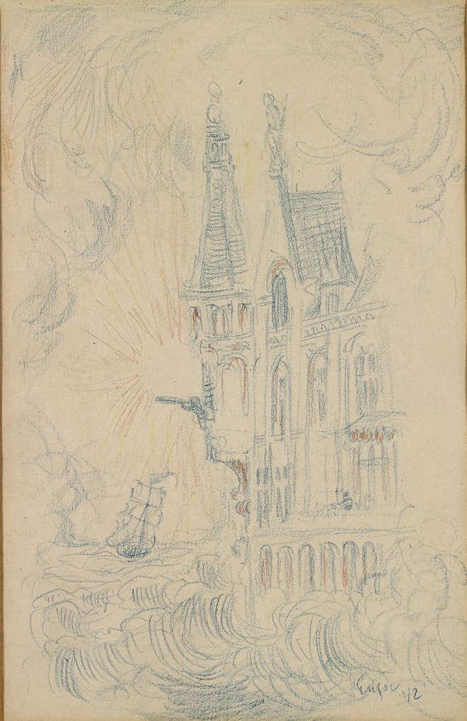 James Ensor - La maison des angoisses