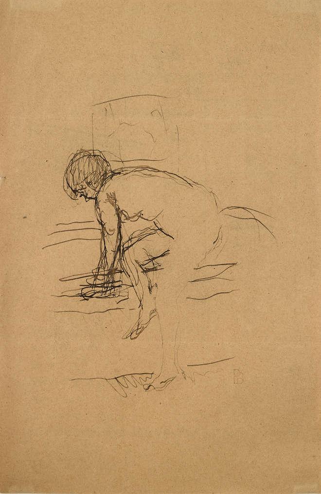 Pierre Bonnard - Nu à la baignoire