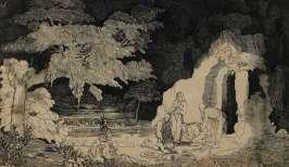 Rodolphe Bresdin - Mise au tombeau