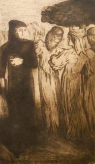 Alfredo Müller - Dante et Béatrice - 1897-1898