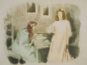 Alfredo Müller - La lecture - 1901