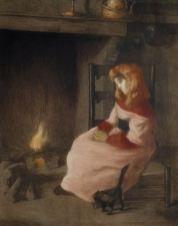 Alfredo Müller - L'angélus - 1902