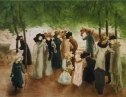 Alfredo Müller - La promenade d'Hyde Park - 1901