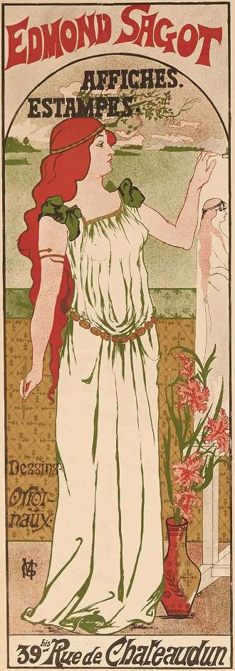Marie Gustave - Edmond-Sagot - Affiches Ed. Sagot - Paris