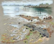 Guillaine Querrien - Balade à marée basse