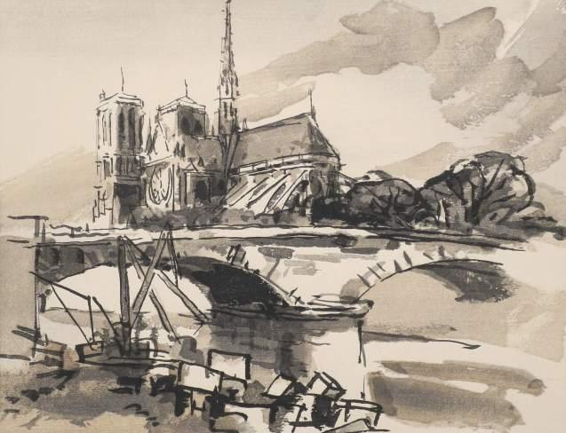 Germaine de Coster - Notre Dame de Paris