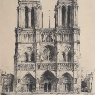 Henry Deville - Notre Dame de Paris