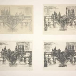 Marcel Gromaire - Paris, la Cité