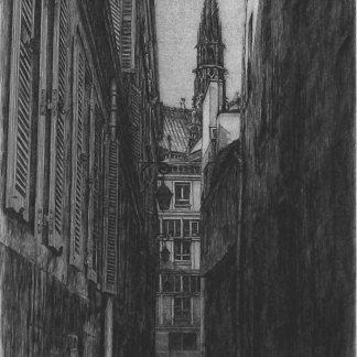 Takuji Kubo - La rue des Chantres