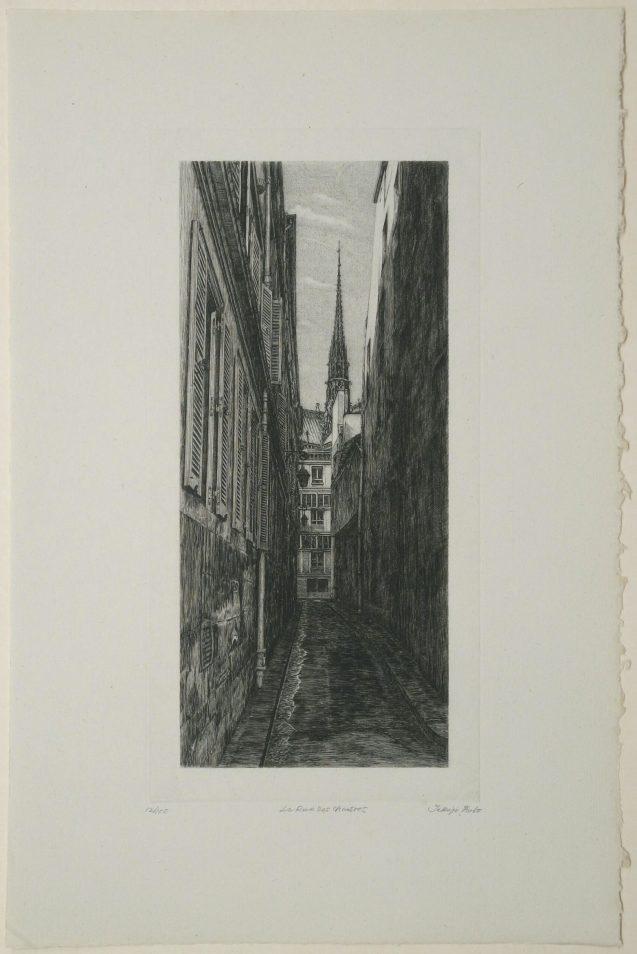 Takuji Kubo - La rue des Chantres - Édition de tête - Recto
