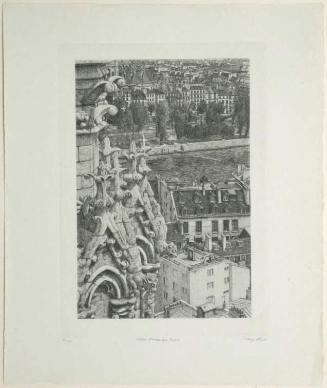 Takuji Kubo - Notre Dame de Paris - Édition de tête - Recto
