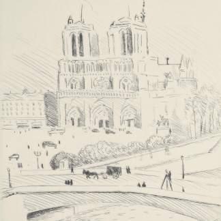Albert Marquet - Notre Dame de Paris