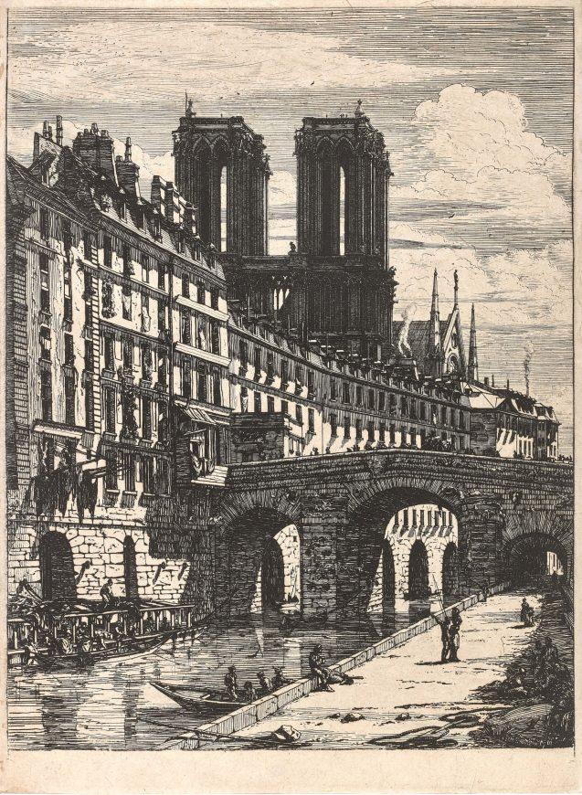 Charles Meryon - Le petit pont