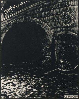 Félix Vallotton - Le suicide