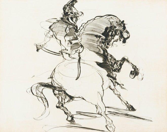 Claude Weisbuch - Hommage à Géricault