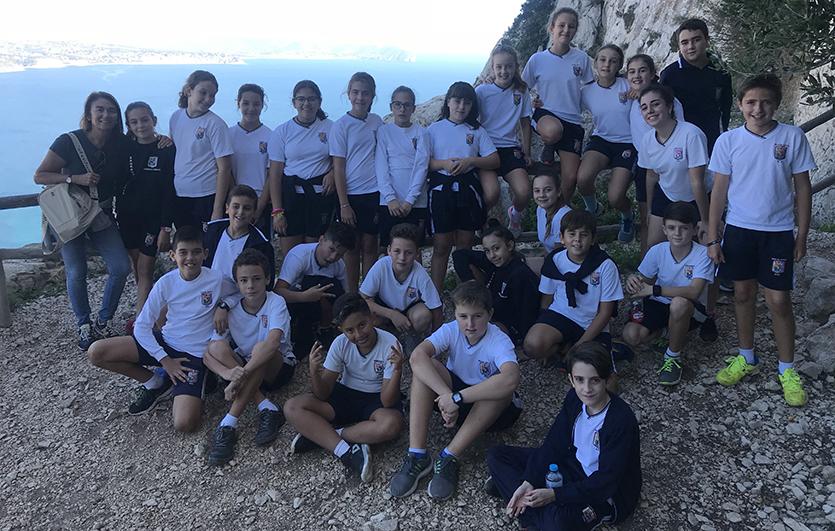 Excursión-Calpe-Peñón-de-Ifach-Colegio-Sagrada-Familia-de-Elda