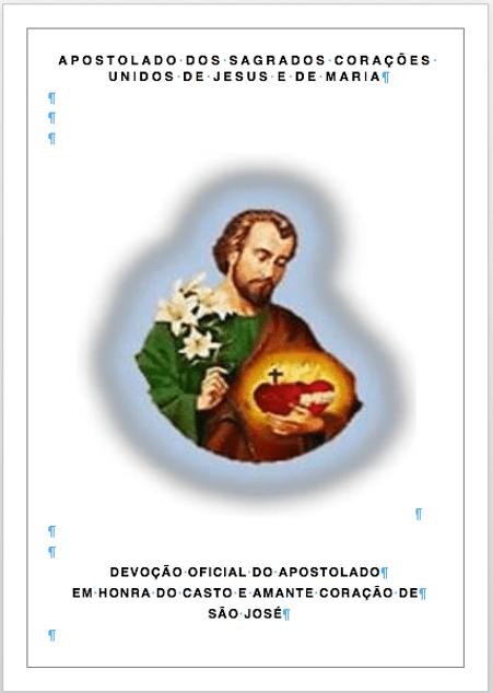 Cenáculo de Oração do Casto e Amante Coração de São José (quartas-feiras)