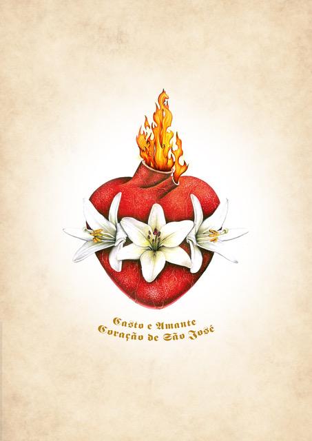 Casto e Amante Coração de São José
