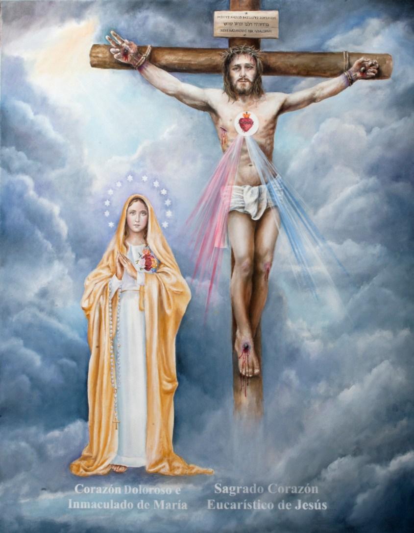 Ícone do Apostolado dos Sagrados Corações Unidos